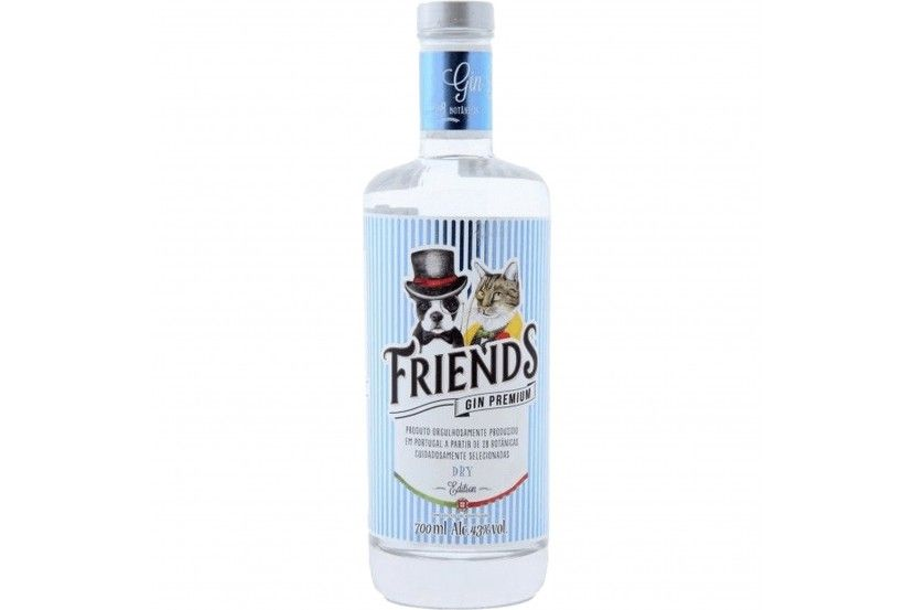 Gin Friends Premium Dry 70 Cl