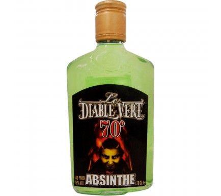 Absinto Diable Vert (70%) 20 Cl