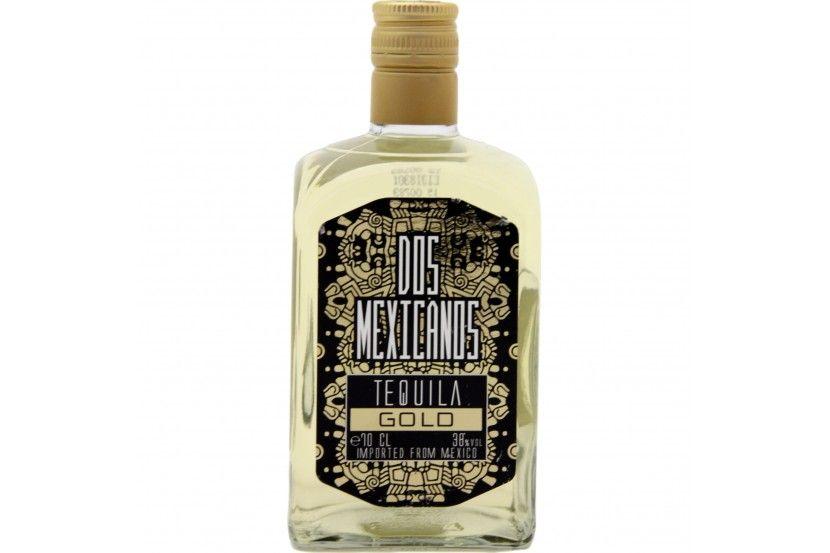 Tequila Dos Mexicanos Gold 70 Cl
