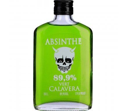 Absinto Calavera Verde (89.9%) 20 Cl