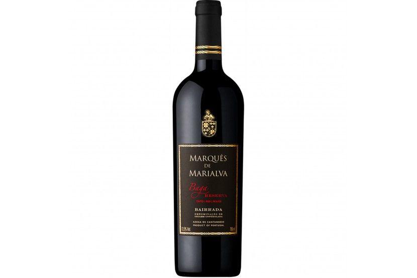 Red Wine Bairrada Marques Marialva Baga Reserva 75 Cl