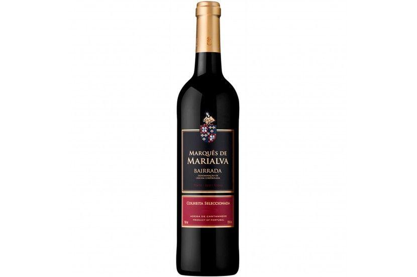 Vinho Red Bairrada Marques Marialva 75 Cl