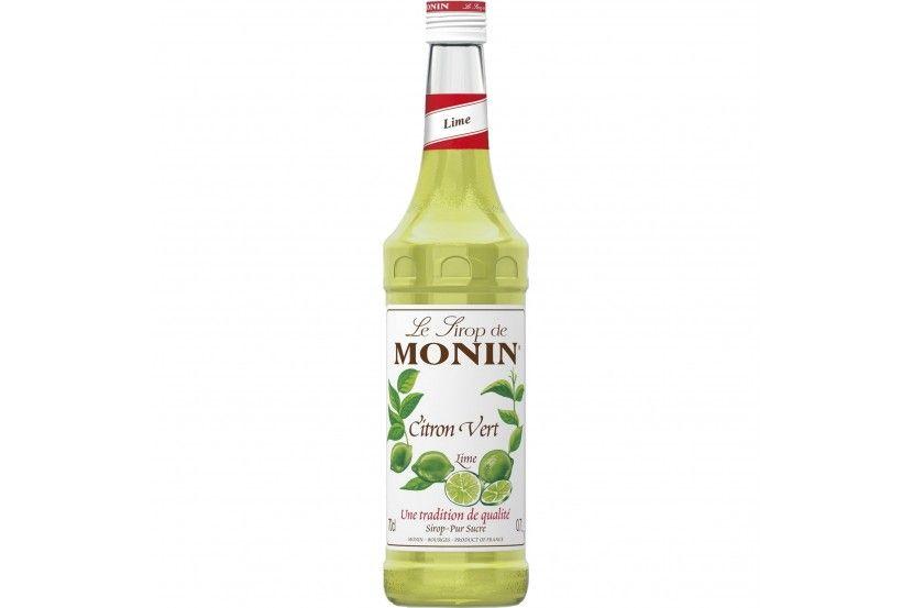 Monin Sirop Lime (Citron Vert) 70 Cl