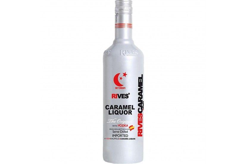 Licor Vodka Caramel Rives 70 Cl