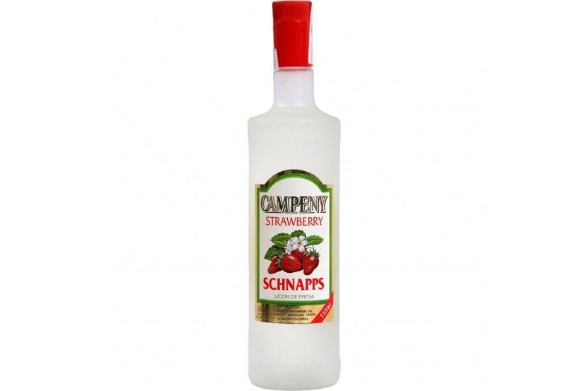 Licor Campeny Schnapps Morango 1 L