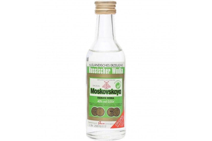 Vodka Moskovskaya 5 Cl