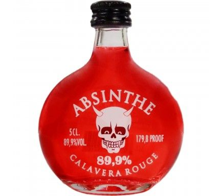Absinto Calavera Rojo (89.9%) 5 Cl