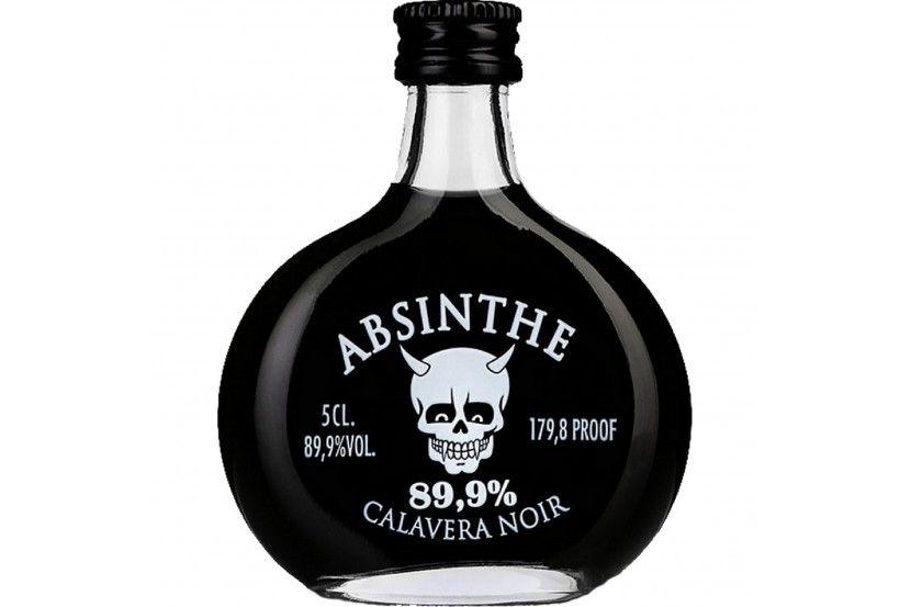 Absinto Calavera Negro (89.9%) 5 Cl
