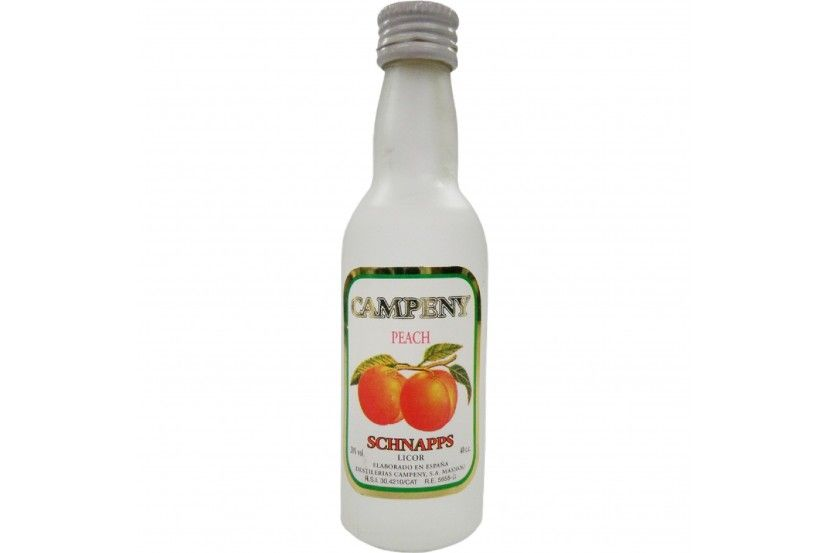 Licor Campeny Schnapps Pessego 4 Cl