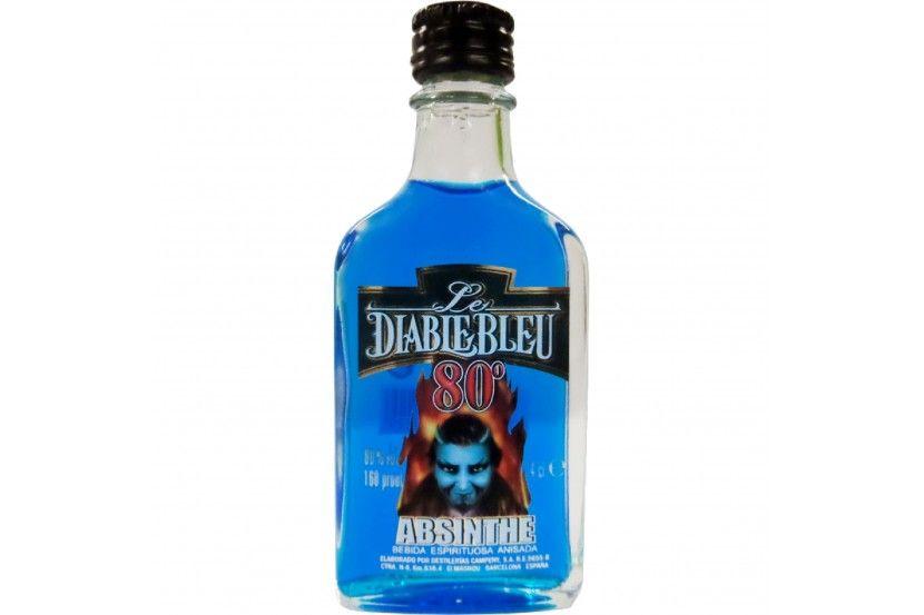 Absinto Diablo Azul (80%) 4 Cl