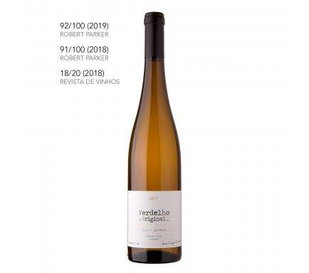 Vinho Branco Verdelho Dos Açores 2019 75 Cl