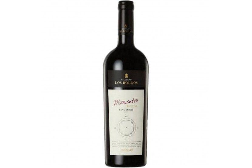 Vinho Tinto Los Boldos Momentos Carmenere 75 Cl