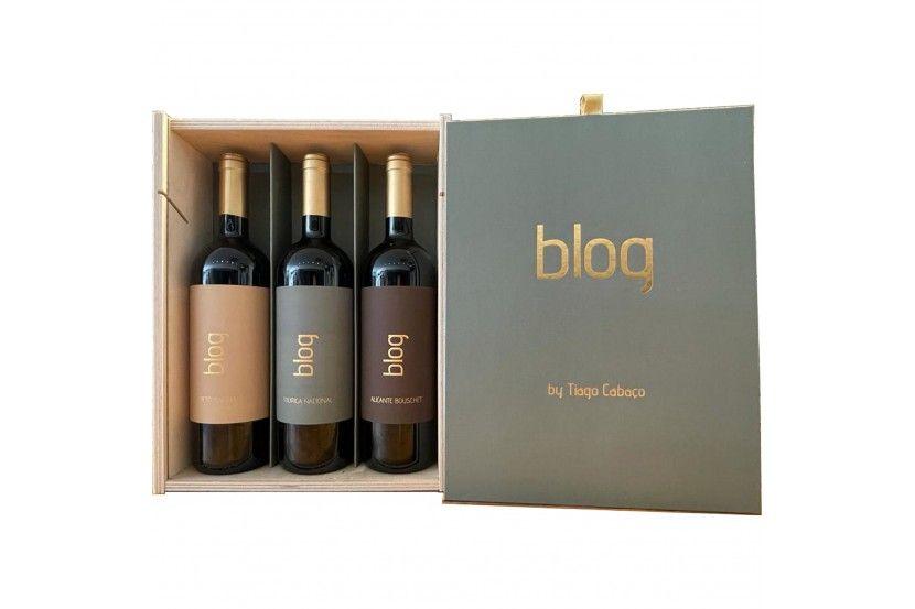 Vinho Tinto Conjunto Blog Monovarietais ( 3 x 75 Cl )