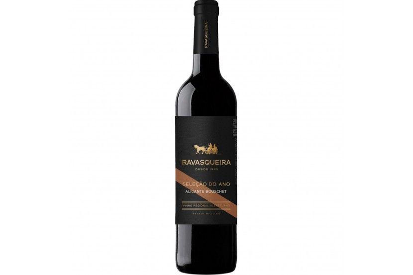 Vinho Tinto Monte Ravasqueira Seleção Alicante Bouschet 75 Cl