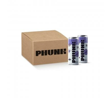 Hard Seltzer Phunk Blueberry  -  (Pack 12)