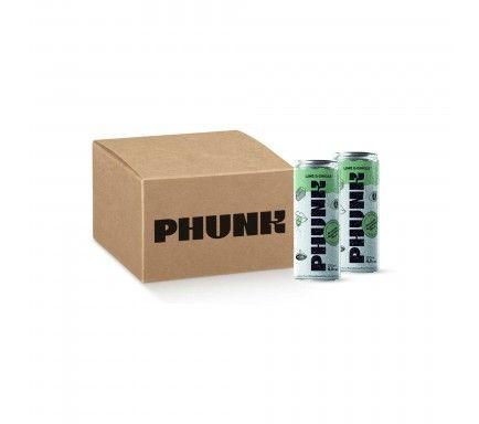 Hard Seltzer Phunk Lime & Ginger -  (Pack 12)
