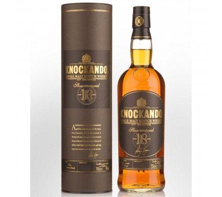 Whisky Malt Knockando 18 Anos 70 Cl