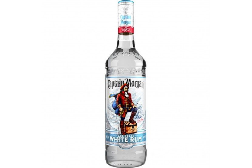 Rum Captain Morgan White 1 L