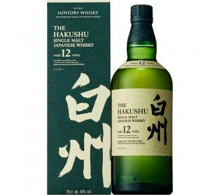 Whisky Jap Hakushu 12 Anos 70 Cl